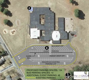 Proposed Tanglewood Elementary School site plan.