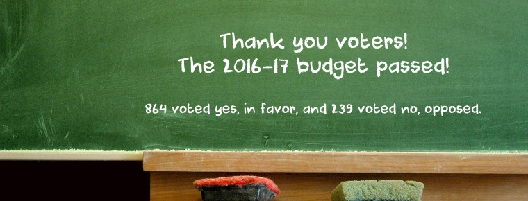 Budget results