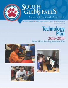 Cover of district technology plan