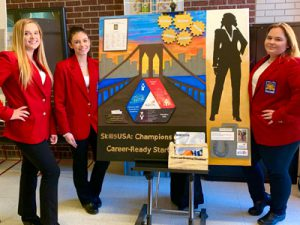 Students at SkillsUSA competition