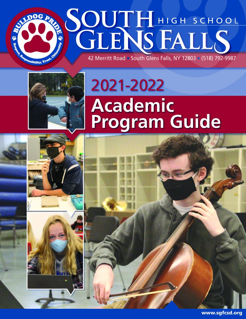 Cover of SGFHS 2021-22 Academic Programming Guide